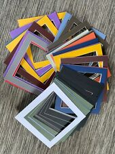Frame Mounts pack of 53 that fit the Ikea Ribba frames - assorted colours