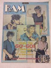 BAM Magazine- Motley Crue- Sept 10, 1982 #138  Go- Go's Cover/photos/Articles
