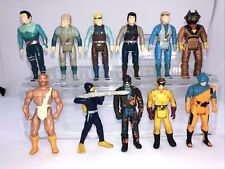Vintage Action Figure Lot Dino Riders M.A.S.K. Sky Commanders Bone Age G.U.T.S.