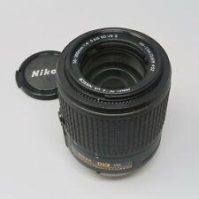 Nikon Nikkor 55-200mm F/4-5.6 G ED DX AF-S VR II Autofocus Lens - Nice Lens!