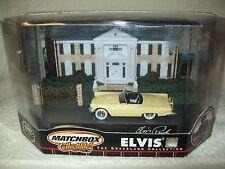 MATCHBOX 1957 FORD THUNDERBIRD CAR OF ELVIS: THE GRACELAND COLLECTION, 1:64, MIB