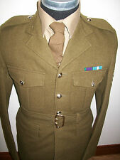 "REME MANS UNIFORM JACKET & TROUSERS BRITISH ARMY  CHEST 36"" 92CM OLD ISSUE STYLE"