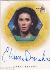 STAR TREK ORIGINAL SERIES 35TH ANNIVERSARY A24 ELINOR DONAHUE HEDFORD AUTOGRAPH