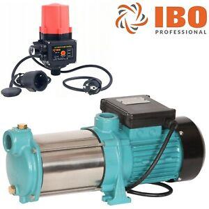 Kreiselpumpe Hauswasserwerk Gartenpumpe MHI1300 INOX 6000 L/h 5,5bar + Steuerung