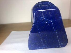 Royal Blue Top Grade Lapiz Lazuli Polished Free form Mineral specimen LP1007