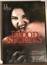 Blood Suckers (DVD, 2010, 3-Disc Set)*12 movie collection*