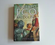 Baudolino by Umberto Eco HC DJ 1st US Edition 1st Printing
