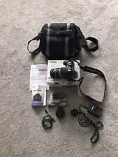 Canon EOS 1000D Digital SLR Camera - Black (Kit w/ EF-S 18-55mm IS ) +Carry Case