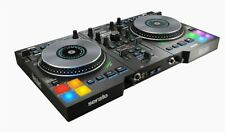 Hercules Djcontrol Jogvision 2-Channel USB DJ Controller with Animated In-Jog LE
