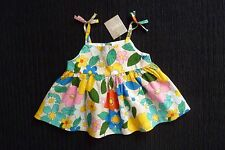 Baby clothes GIRL 3-6m NEW NEXT multi-colour floral bright dress-style top no sl