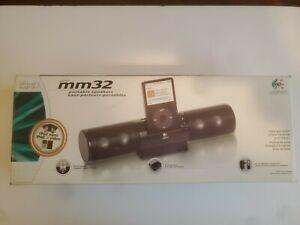 LOGITECH MM32 PORTABLE SPEAKER SYSTEM MODEL S-0218A.