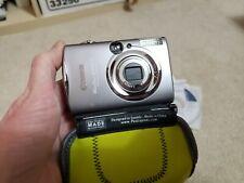 Canon LOT PowerShot Digital ELPH SD800is Silver 7.1MP Digital Camera + SD1300IS