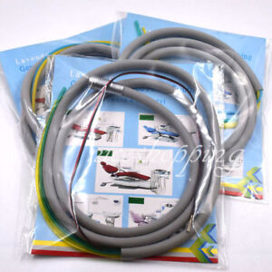 1x Dental Silicone Tubing Hose For Air Turbine High Speed Handpiece 2/4/6 Holes