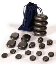 DevLon NorthWest Hot Stone Massage Set Basalt Stones Set With Velvet Bag 20 Pc