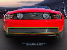 Fits 2010 2011 2012 Ford Mustang GT V8 Billet Grille Bumper Grill Insert Fedar