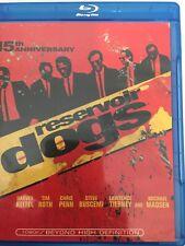 Reservoir Dogs Blu-Ray 15th Anniversary- Harvey Keitel, Tim Roth, Chris Penn,
