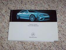 2008 Mercedes Benz CLK63 CLK 63 AMG Black Series Owners Owner's Operators Manual
