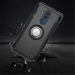 For Huawei Mate 10 Pro Lite Case Hybrid Shockproof Armor Ring Holder Stand Cover