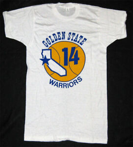 Golden State Warriors _RARE ORIGINAL 1972 Shirt VTG NBA Rick Barry basketball S