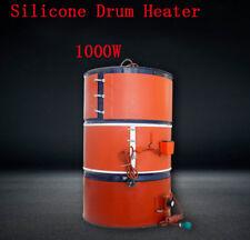 1000W 220V 200L Silicone Band Drum Heater Oil Biodiesel Metal Barrel 30~150℃ New