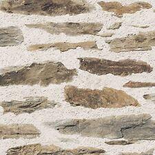 rustique Mur De Briques Papier peint - Muriva 102559 - Marron