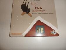 CD  Es ist ein Elch entsprungen  von Andreas Steinhöfel und Gustav Peter Wöhler