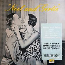 "Noël Coward Gertrude Lawrence Noel and Gertie 1955 UK record 12"" 33rpm LP (nm)"