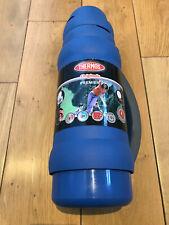 Thermos Premier 34-100 Flask 1.0 Litre Blue
