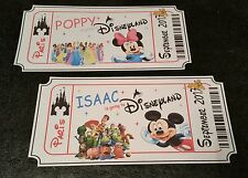 *NOVELTY TICKET* THEATRE.. DISNEY.. ON ICE.. BIRTHDAY.. HOLIDAY.. CONCERT.. GIFT