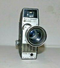 Vtg Bell & Howell 8mm Camera. Tested