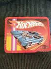 1969 Collectible Tin Hot Wheels lunchbox with original Thermos