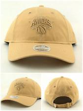 New York Knicks NY New Era 9Twenty Women Ladies Tan Beige Khaki '47 Hat Cap