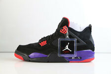 Air Jordan Retro 4 NRG Raptors Black University Red Court Purple AQ3816-065 8-12