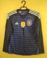 Germany jersey shirt 2018 Goalkeeper adidas football soccer Kids L 13-14 Years