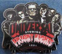 Universal Studios 1991 Fright Nights Pin Halloween Horror Nights HHN
