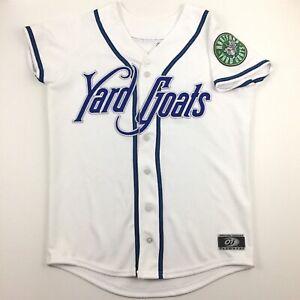 Hartford Yard Goats Ladies Jersey Sewn Stitched Logo USA MiLB Minor Baseball L