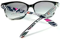 NEW* Vera Bradley Northern Stripes Black DESIGNER Grey Lens Women's Sunglass