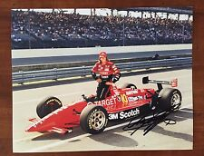 Arie Luyendyk Signed Indy 500 Pole Winner Autograph 8X10 Photo Indianapolis 1993