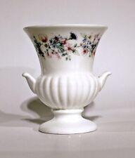 Wedgwood - miniature china urn vase - Angela design - made in England