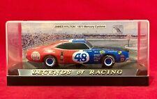 NASCAR 1:43 Scale Legends of Racing #48 James Hylton 1971 Mercury Cyclone