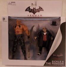 Batman Arkham City Penguin & Sickle 2 Figure Pack DC Comics Collectibles (MISB)