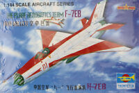Trumpeter 1/144 China PLAAF AEROBATICS TEAM F-7EB Air Fighter Plane Model Kit
