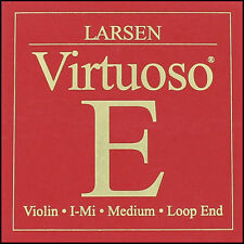 Larsen Virtuoso Violin E String (Loop End) Strong Tension 4/4 Full Size