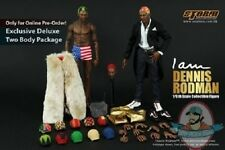 1/6 NBA Dennis Rodman Collectible Figure Exclusive 2 Bodies SM-1402