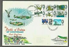 More details for gb battle of britain phosphor stamps first day cover london wc postmark ref:qx33