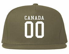 Kings Of NY Canada Team Ontario Printed Snapback Hat Toronto Vancouver