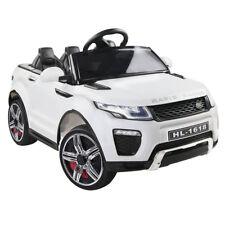 Kids Ride On Car White RIGO