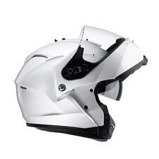 HJC Is-max 2 Plain Flip up Motorcycle Helmet Modular Scooter Inner Visor Pinlock L White
