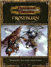 D&D - Dungeons & Dragons Ed 3.5: Frostburn - Inglese / English - USATO Buono