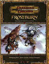 D&D - Dungeons & Dragons Ed 3.5: Frostburn - Inglese / English - USATO Buono